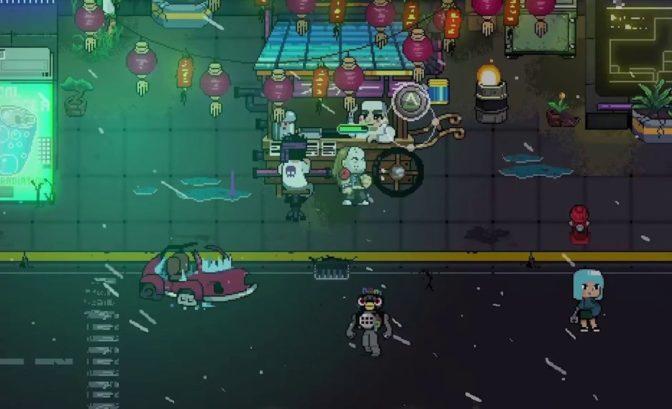 Neon City Riders - Gameplay