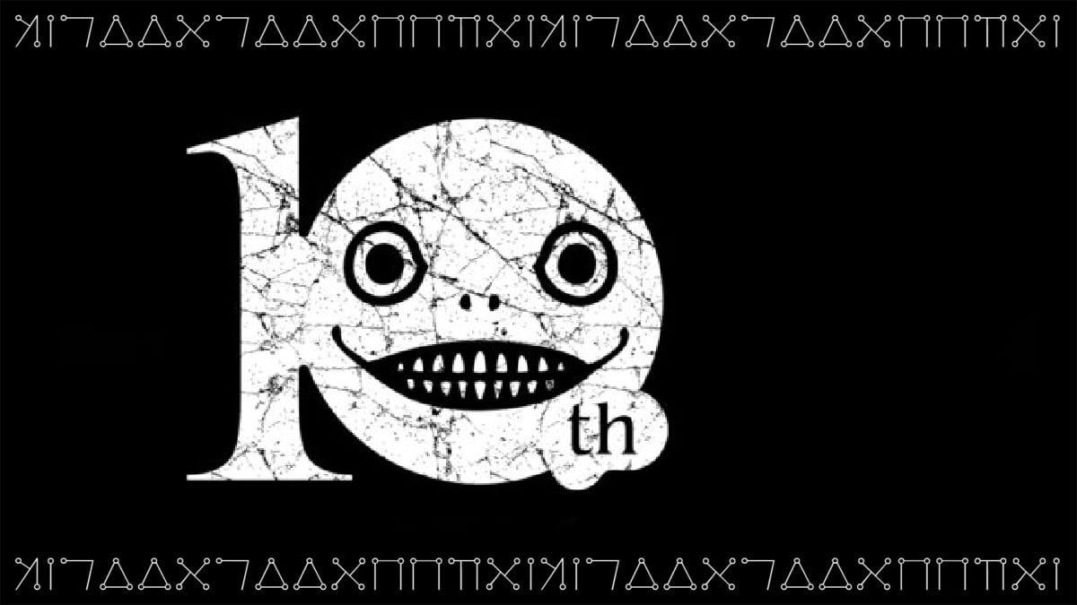 NieR 10 ans logo