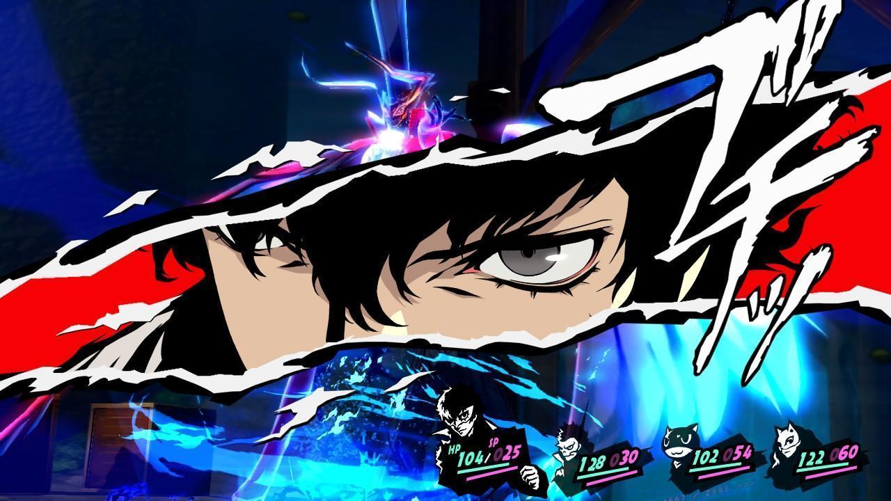 Persona 5 Scramble - Joker furieux