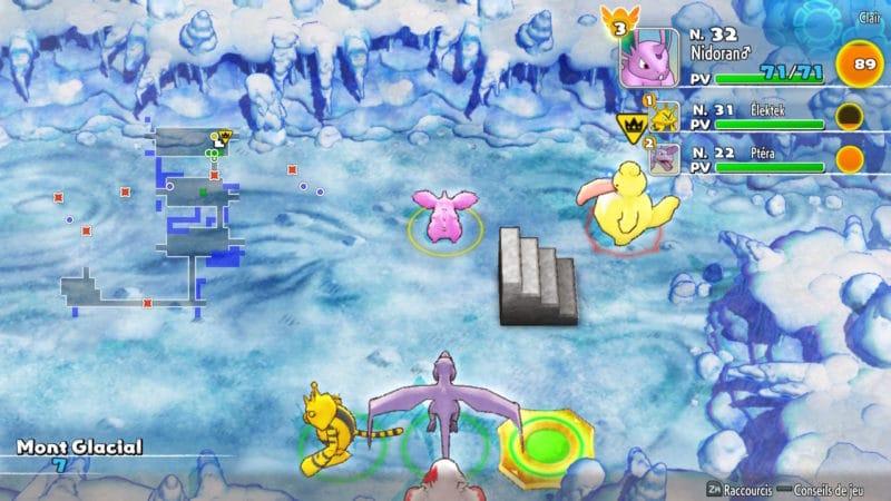 Pokémon Donjon Mystère : Équipe de Sauvetage DX - Coudlangue shiny