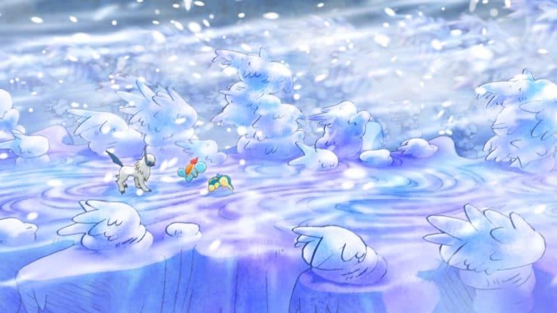Pokémon Donjon Mystère : Équipe de Sauvetage DX - Décor sublime