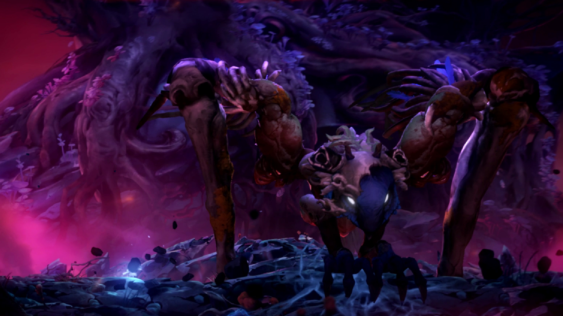 Ori and the will of the Wisps guide Shriek