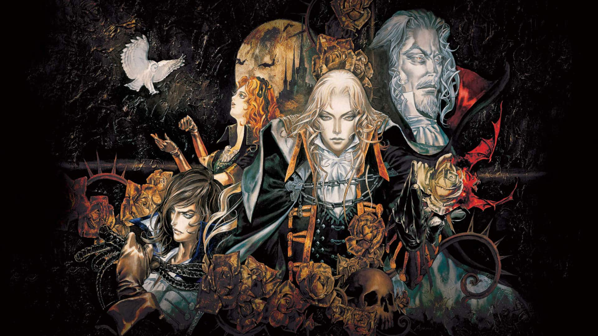 Castlevania Symphony of the Night personnages