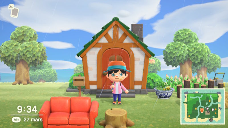 Animal Crossing: New Horizons - Maison