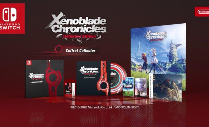 Xenoblade Chronicles Definitive Edition - contenu édition collector