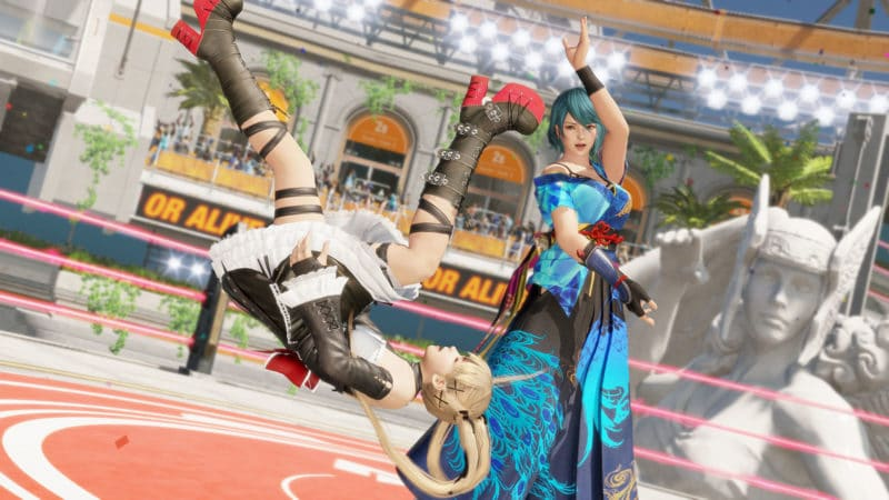 dead or alive 6 - Tamaki VS Marie Rose