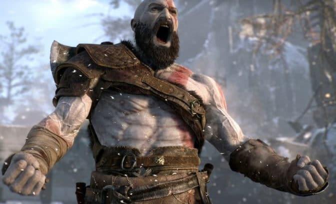 God of War - Atreus trains to hunt