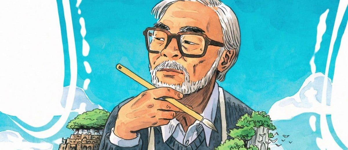 portrait hayao Miyazaki