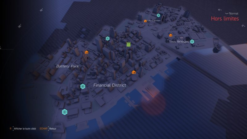 The Division 2: Warlords of New York map