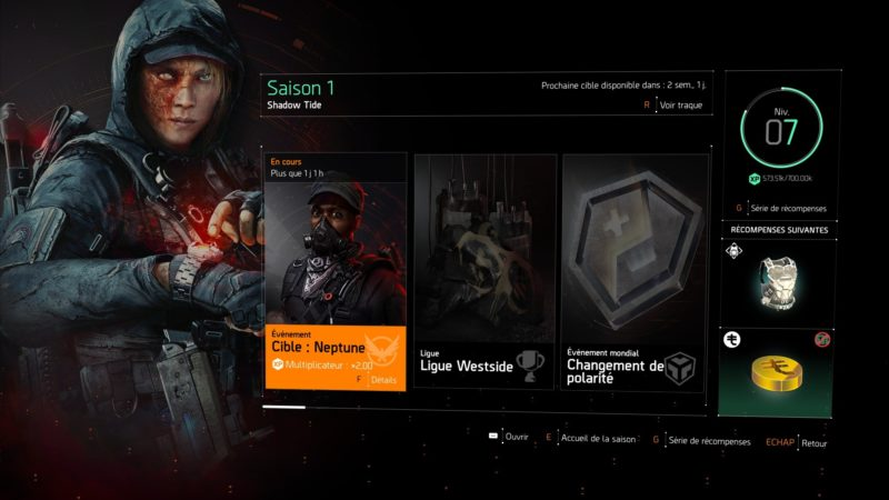 The Division 2: Warlords of New York saison 1