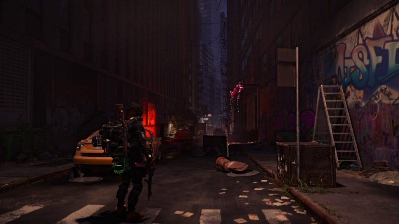 The Division 2: Warlords of New York street