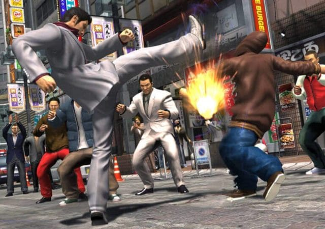 the yakuza remastered collection combat