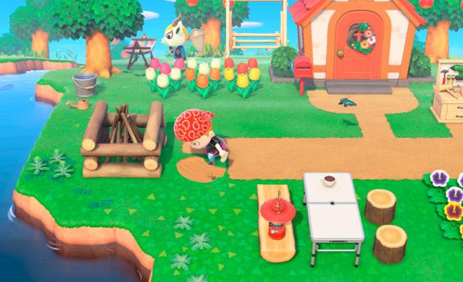 Animal Crossing: New Horizons - Déco cohérente