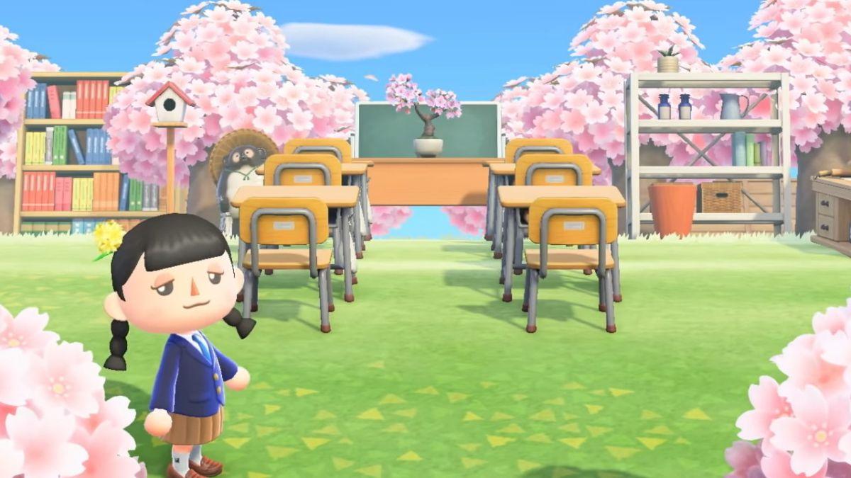Animal Crossing: New Horizons - En classe