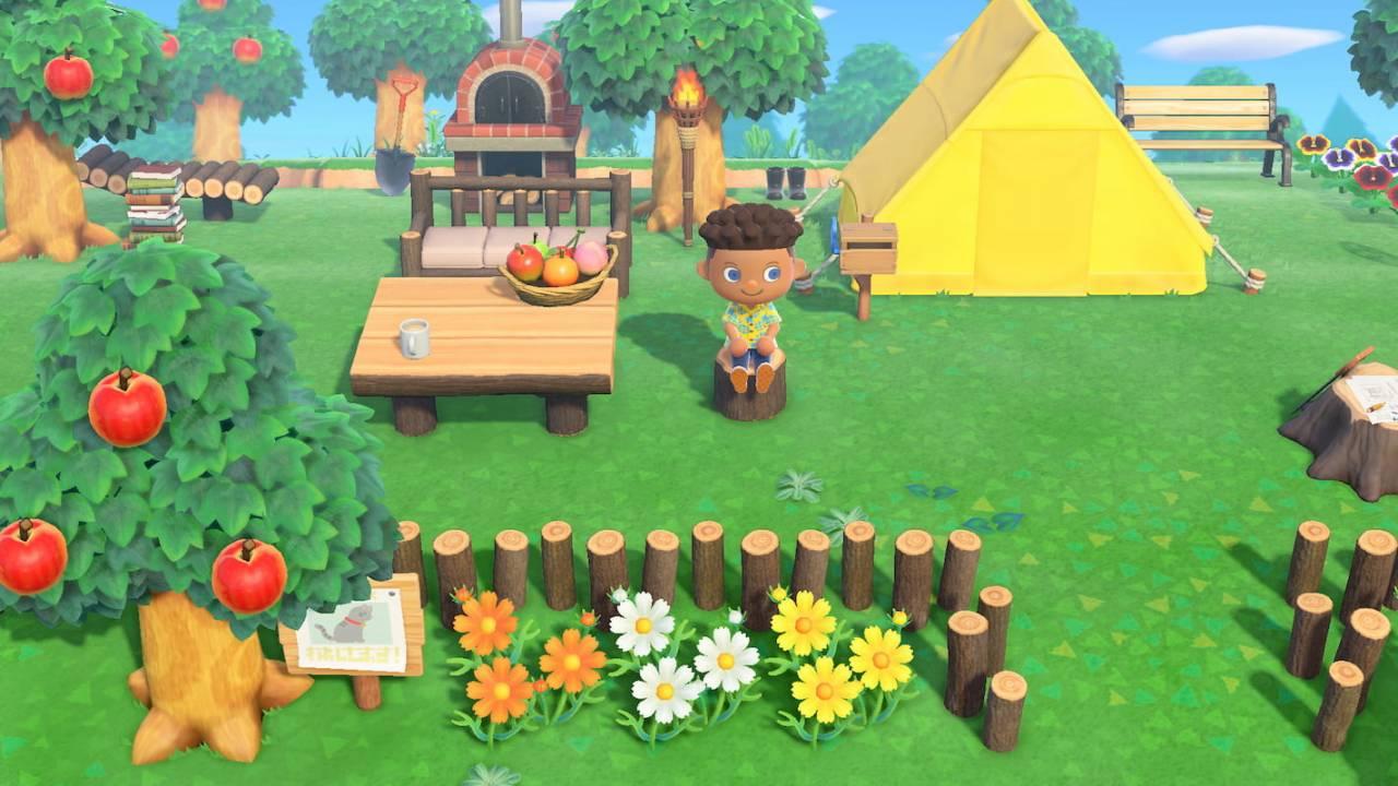Animal Crossing: New Horizons - Vie sauvage