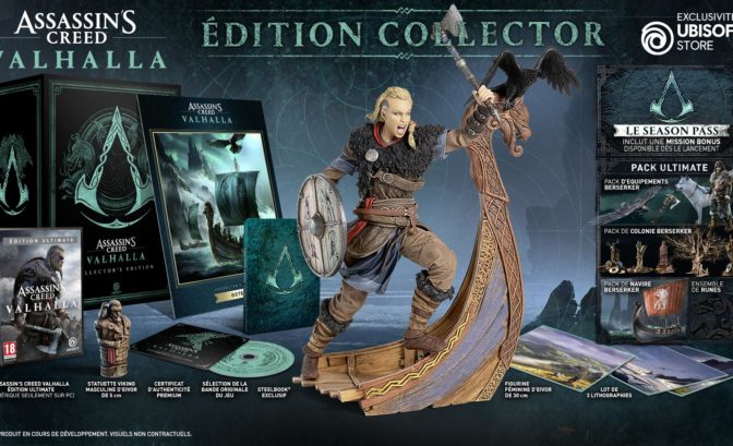Edition Collector d'Assassin's Creed Valhalla