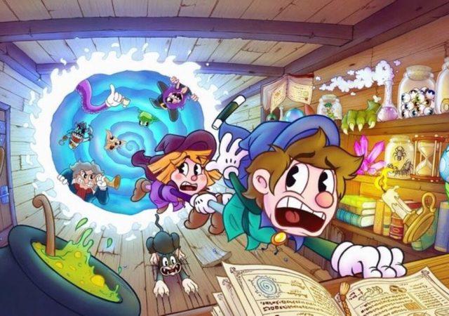 Enchanted Portals - Bobby et Penny aspirés par le portail