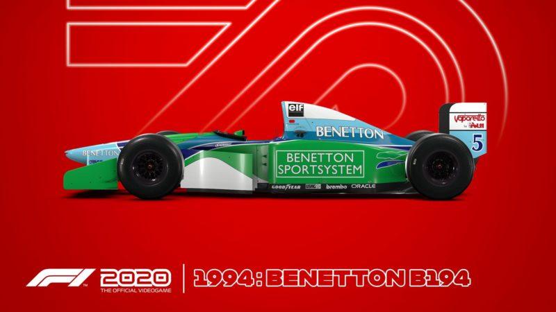 F1 2020 benetton 94