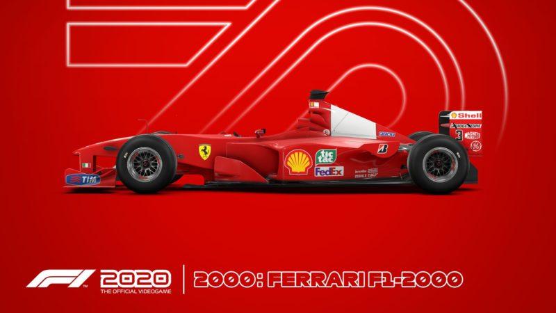 F1 2020 ferrari 2000