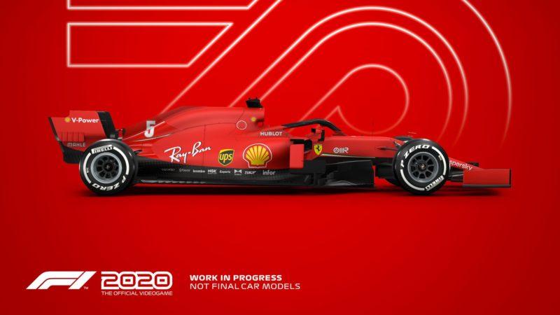 F1 2020 ferrari