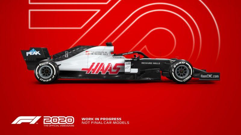 F1 2020 haas