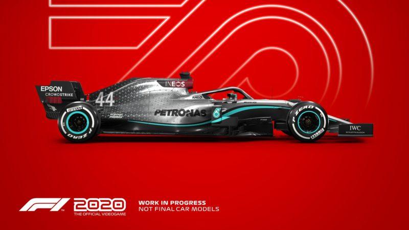 F1 2020 amg