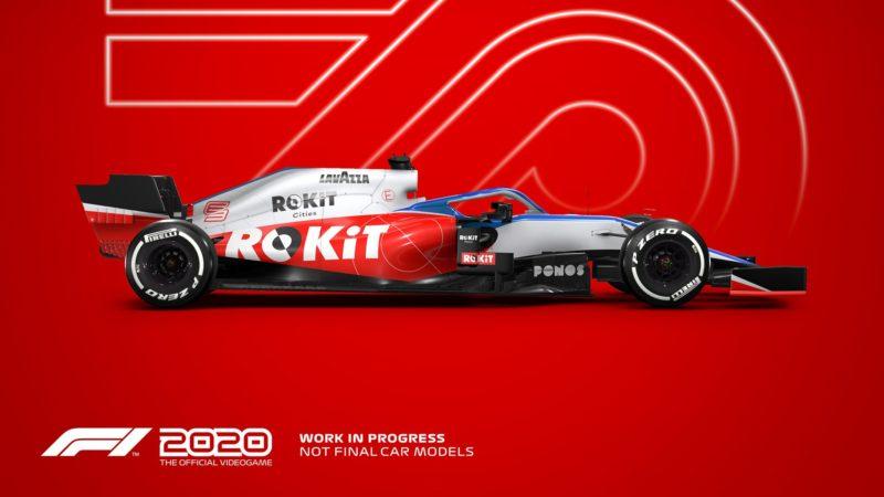 F1 2020 williams