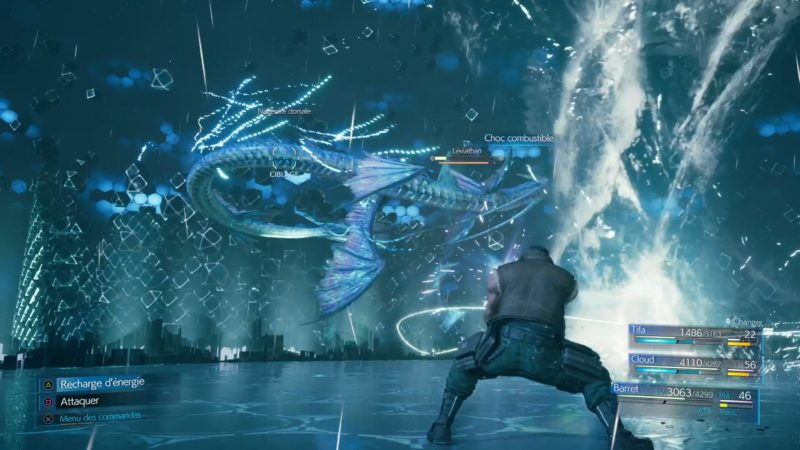 Final Fantasy VII Remake leviathan