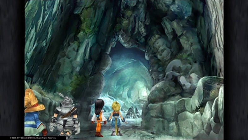 final fantasy IX caverne