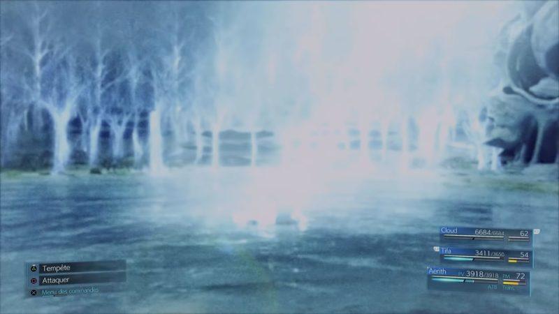 Final Fantasy VII Remake - mort d'aerith