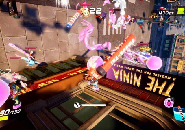 Ninjala - Combats et acrobaties