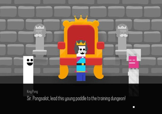 PONG Quest RPG roi