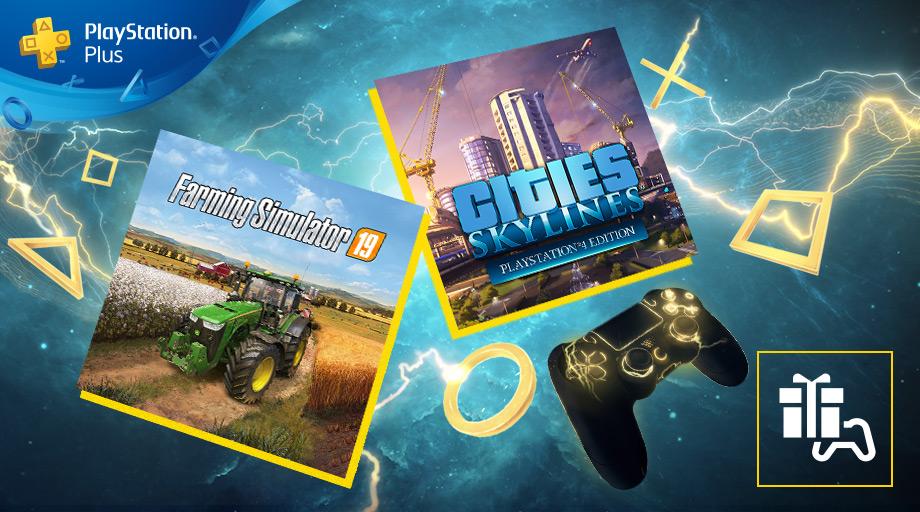 jeux PS Plus mai