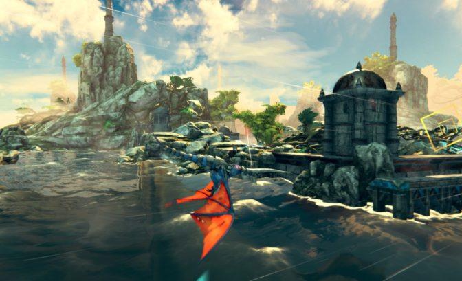 Panzer Dragon: Remake - Gameplay