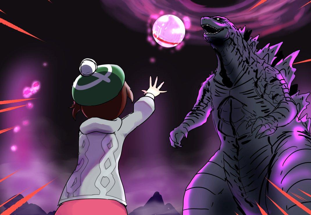 Pokémon Épée et Bouclier - Godzilla Dynamax