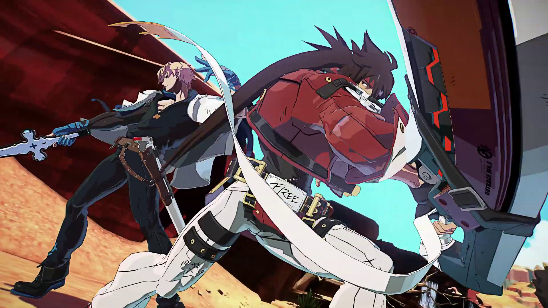 Guilty Gear Strive bêta fermée - Sol et Ky