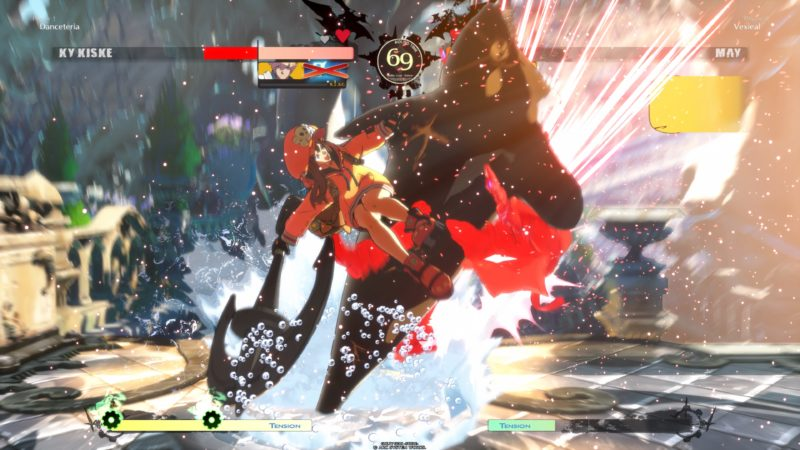 Guilty Gear Strive bêta fermée - May en action
