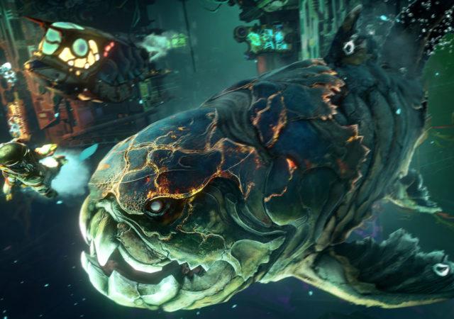 Shinsekai poisson géant