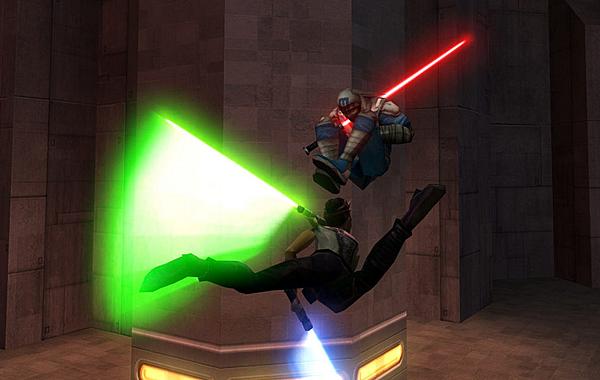 Star Wars Jedi Knight: Jedi Academy - Combat