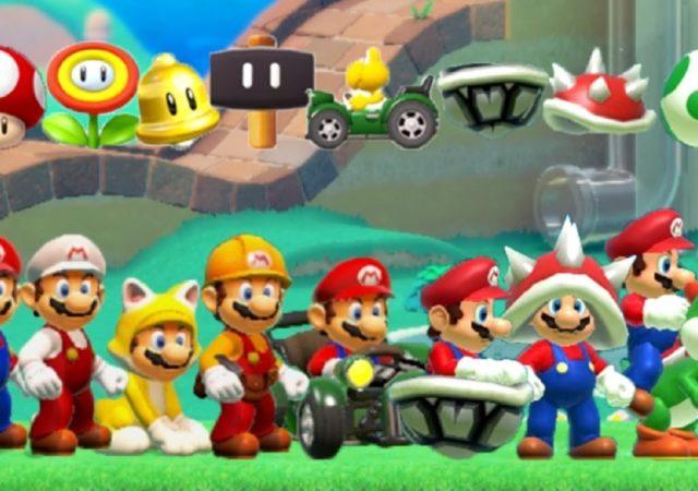 Super Mario Maker 2 - Mario costumes