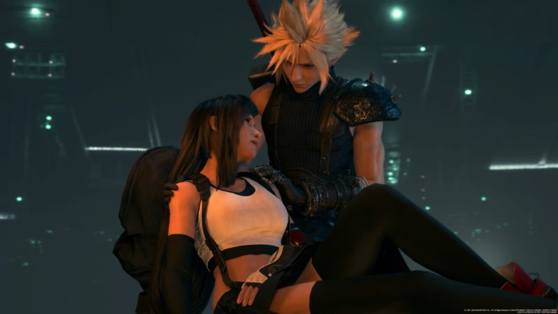 Final Fantasy VII Remake - Cloud et Tifa
