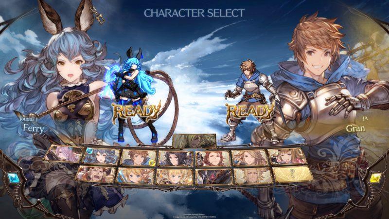 Granblue Fantasy Versus - Personnages