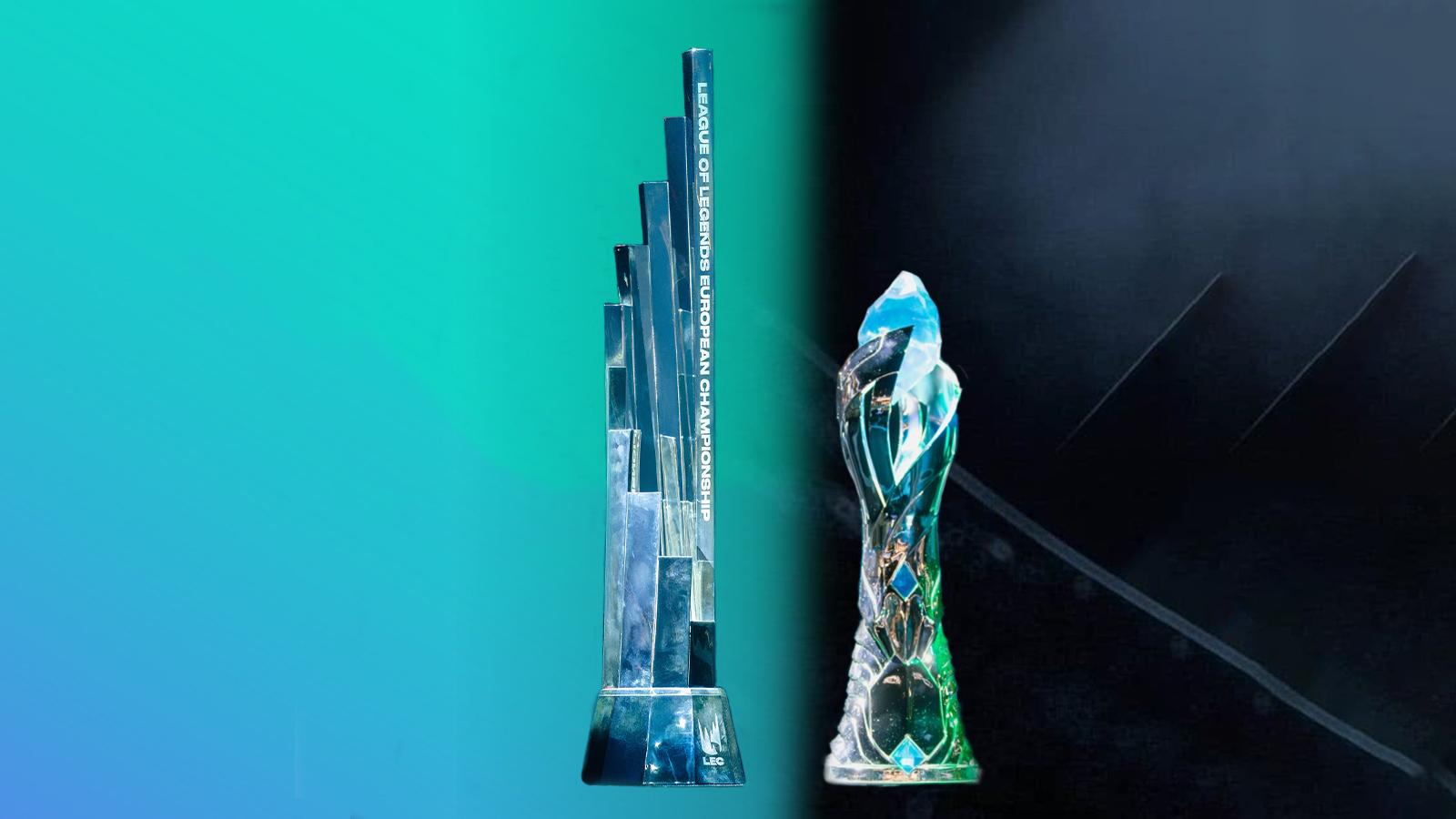 trophée LEC et LCS NA