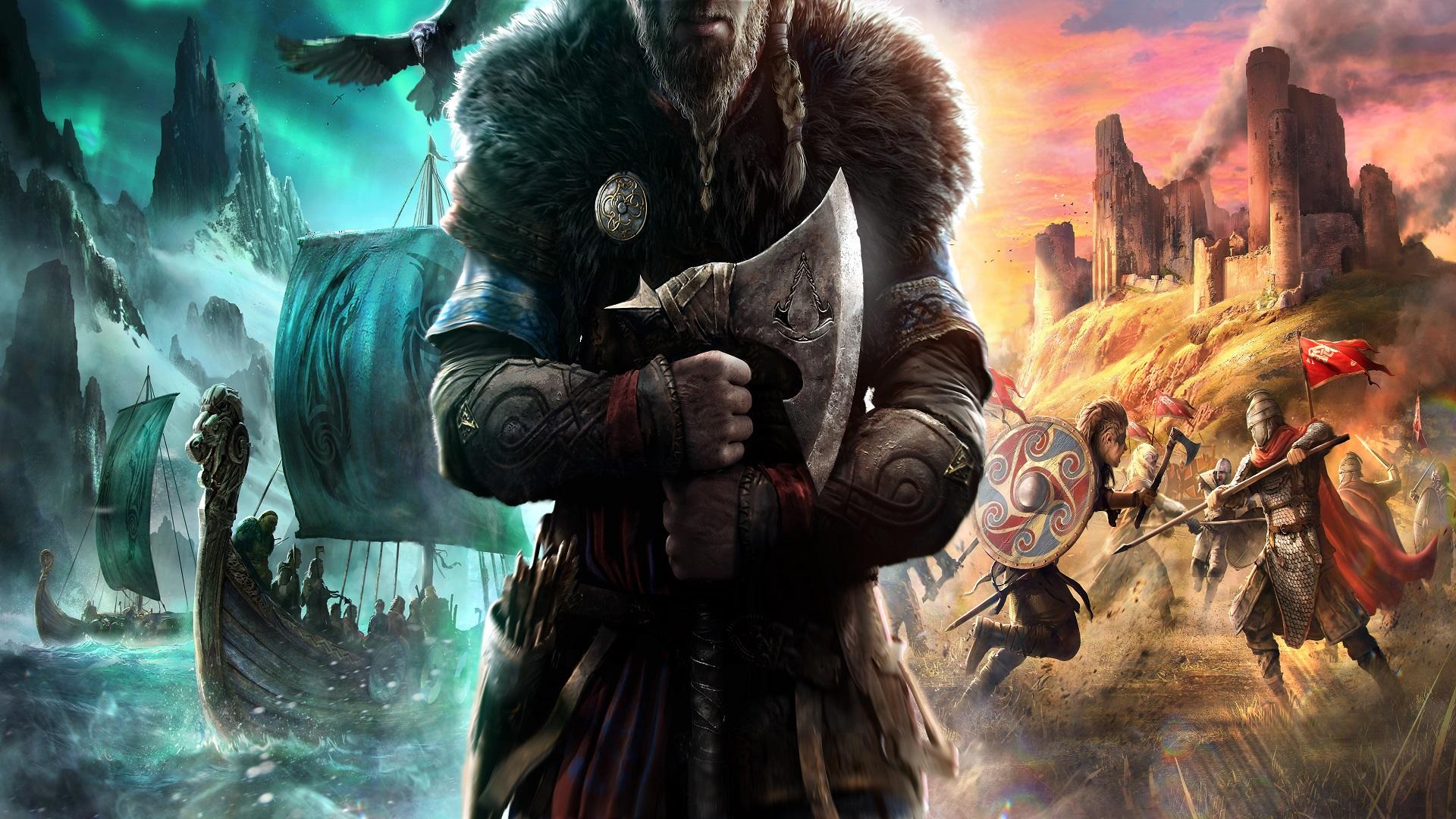 Assassin's Creed Valhalla artwork bosslogic