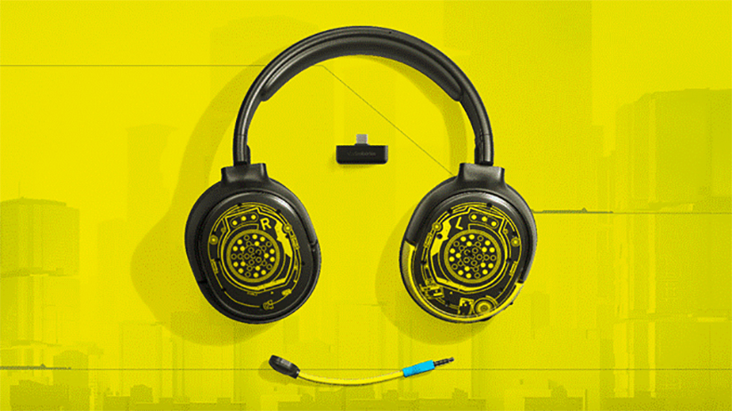 casque SteelSeries Cyberpunk 2077