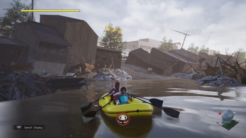 Disaster Report 4: Summer Memories bateau