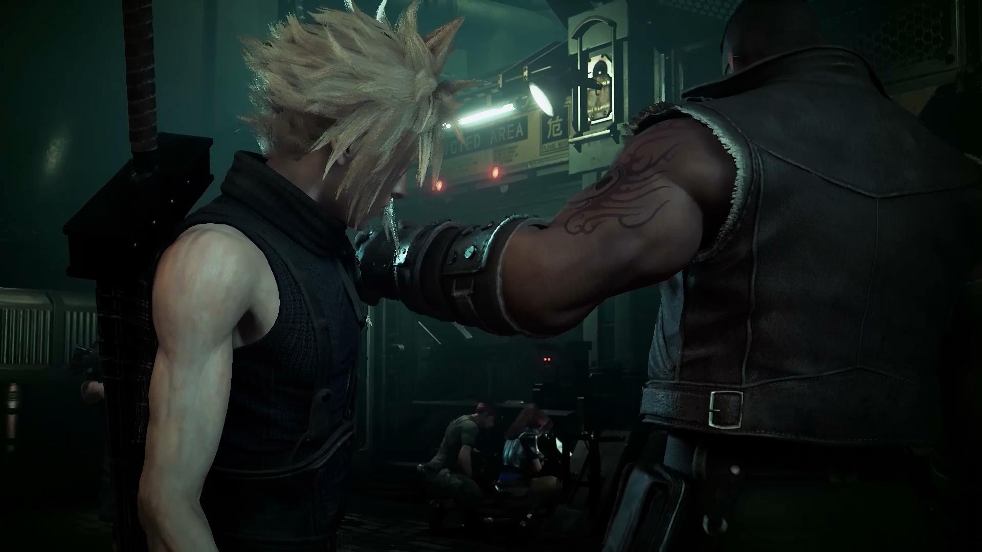 Final Fantasy VII Remake Cloud déçu