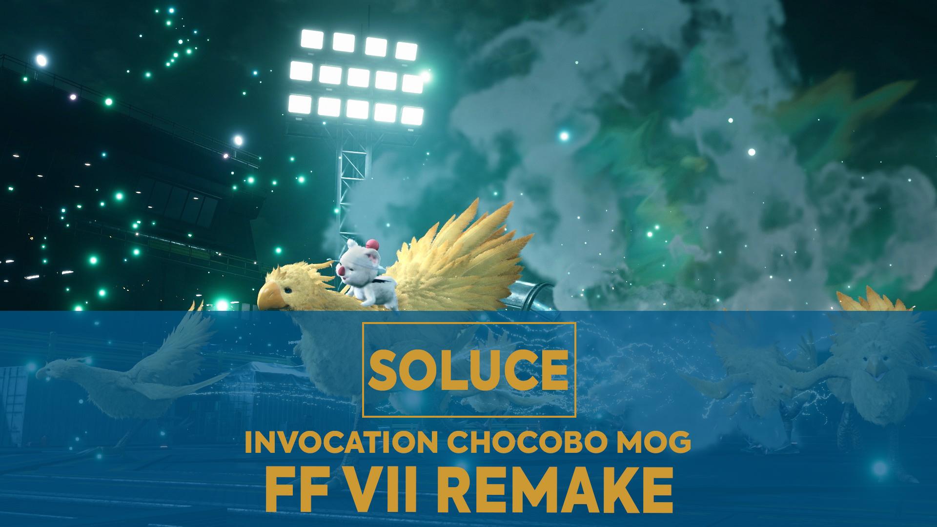 final fantasy 7 remake soluce chocobo mog
