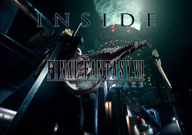 final fantasy VII Remake - making-of