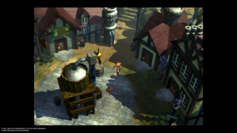 Final Fantasy VII ville
